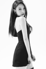 CLC Elkie Black Dress promo photo