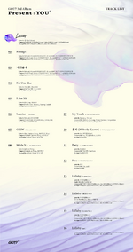 GOT7 Present You track list