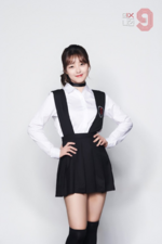 MIXNINE Jang Hyogyeong promo photo 2