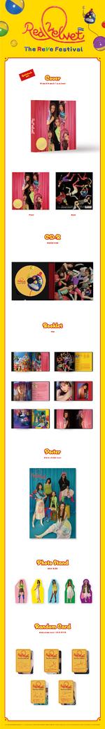 Red Velvet The ReVe Festival Day 1 album packaging (Guidebook ver.)