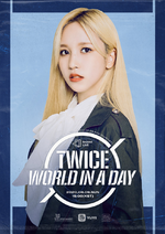 TWICE Mina Beyond LIVE – TWICE World in A Day poster