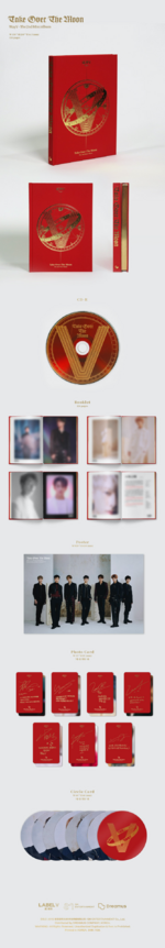 WayV Take Over the Moon album packaging