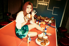 4Minute Sohyun 4Minute World concept photo