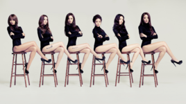 Dalshabet Be Ambitious group photo
