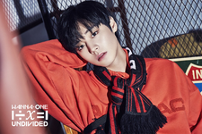 Wanna One Park Ji Hoon Light promo photo