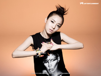 2NE1 Dara 1st Mini Album promo photo
