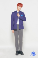 Lee Eun Sang Produce X 101 promotional photo