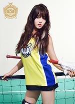 AOA Chanmi Heart Attack photo