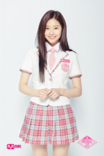 Kim Min Ju Produce 48 official profile photo