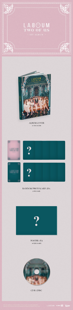 LABOUM Two Of Us album packaging