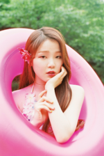 OH MY GIRL Seunghee A-ing photo