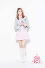 Produce 101 Heehyun promotional photo
