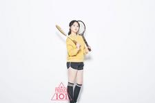 Produce 101 Kim Yunji promo photo 5