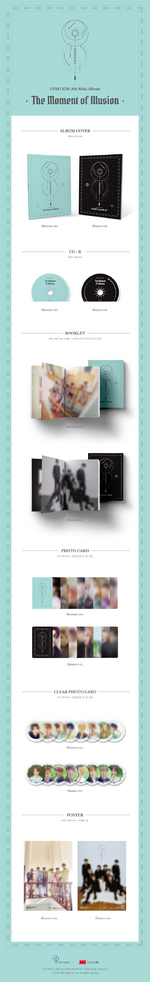 UP10TION The Moment of Illusion album packaging