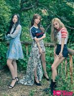 (G)I-DLE 10+star July 2018 Shuhua & Miyeon & Soyeon photo