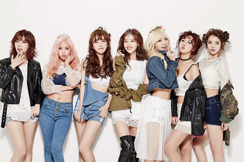 Girlband Korea Dia