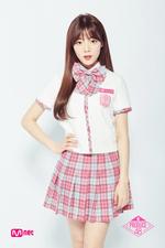 Na Go Eun Produce 48 promotional photo 1