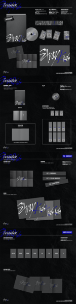 Stray Kids Clé Levanter limited edition album packaging