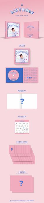 Roh Tae Hyun Birthday album packaging