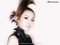 2NE1 Dara Nolza promo photo