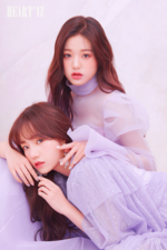 IZONE Jang Won Young Jo Yu Ri Heart Iz unit promo photo