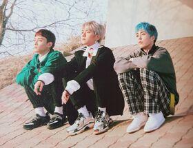 EXO-CBX para Blooming Days 2