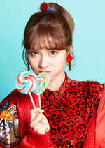 TWICE Momo Candy Pop promo photo