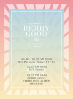 Berry Good Fantastic timetable