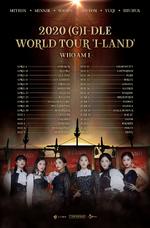 (G)I-DLE 2020 (G)I-DLE World Tour 'I-LAND Who Am I' schedule
