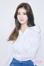 IZONE Kwon Eun Bi official profile photo