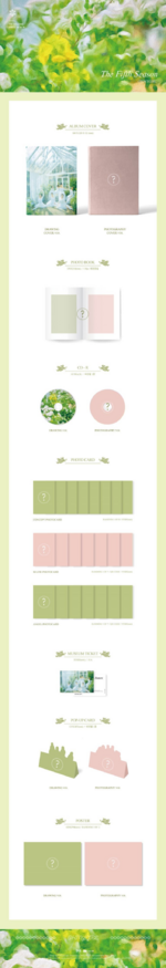 OH MY GIRL The Fifth Season album packaging