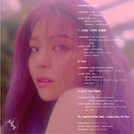 Ailee Butterfly track list (2)