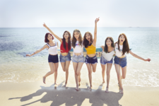 LABOUM LABOUM Summer Special group promo photo