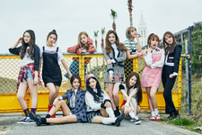 PRISTIN Hi! Pristin group photo