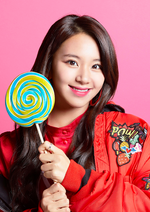 TWICE Chaeyoung Candy Pop promo photo