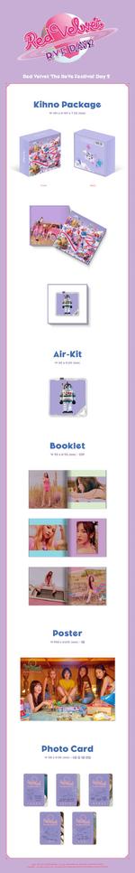 Red Velvet The ReVe Festival Day 2 kihno packaging