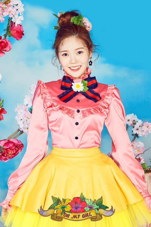 OH MY GIRL Hyojung Coloring Book Photo