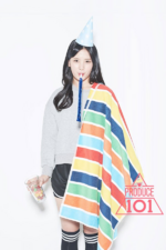 Produce 101 Choi Yubin promo photo 5