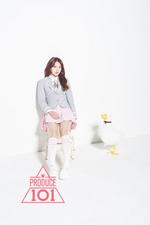 Produce 101 Kang Sihyeon promo photo 3