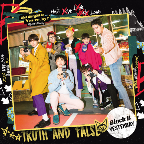 File:Block B Yesterday Japanese ver. Type-A cover art