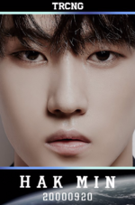 TRCNG Hak Min debut profile