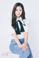 IZONE Kim Min Ju official profile photo