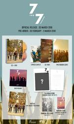 GOT7 7 for 7 Thailand Edition album preview