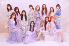 IZONE Heart IZ group concept photo Violeta ver