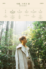Chen April, and a Flower tracklist