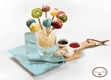 TWICE Candy Pop Cafe Colorful Lollipop