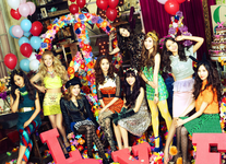 Girls' Generation Love & Peace promotional photo