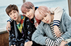 J-Hope, Jimin and Jin You Never Walk Alone concept photo