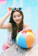 OH MY GIRL YooA A-ing photo