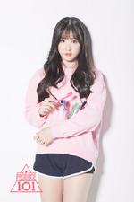 Produce 101 Lim Jeongmin promotional photo (3)